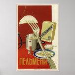 Soviet Pelmeni de URSS que hace publicidad de 1936 Impresiones
