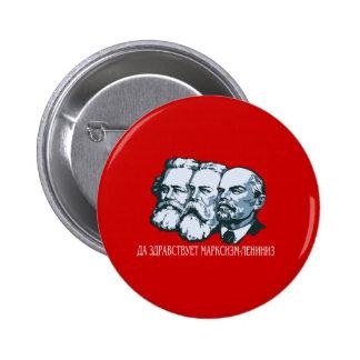 Soviet Pin Redondo 5 Cm