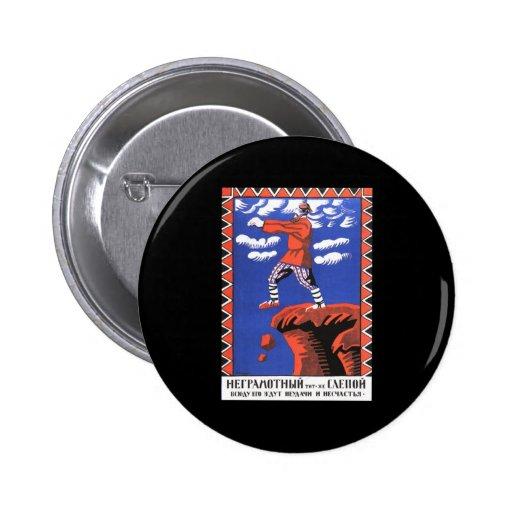 Soviet Pinback Button