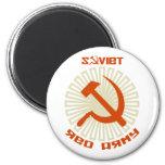 Soviet Red Army Hammer & Sickle 2 Magnet