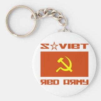 Soviet Red Army Hammer & Sickle Keychains