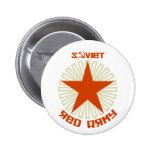 Soviet Red Army Star 2 Inch Round Button