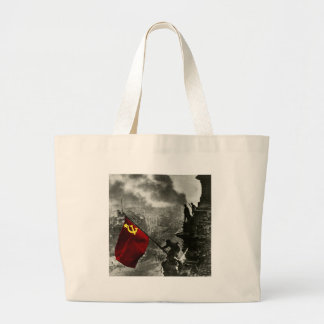 Soviet Reichstag Large Tote Bag