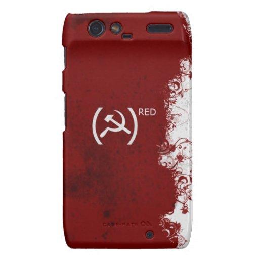 Soviet rojo abstracto de URSS Droid RAZR Carcasa