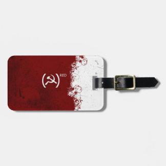 Soviet rojo abstracto de URSS Etiquetas Bolsa