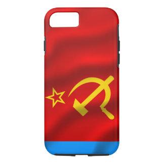 Soviet ruso FED Socialist Rep. caso del iPhone 7 Funda iPhone 7
