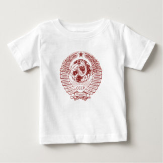 Soviet Russia Hammer & Sickle Seal Baby T-Shirt