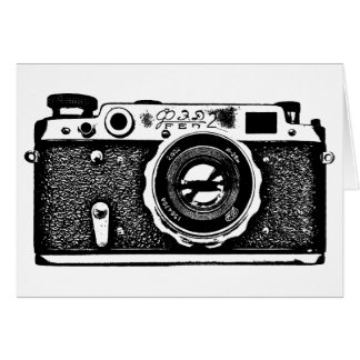 Soviet Russian Camera - Black Card