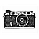 Soviet Russian Camera - Black Postcards