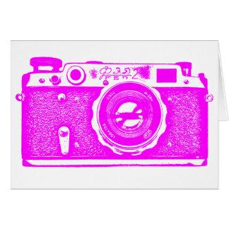 Soviet Russian Camera - Magenta Card