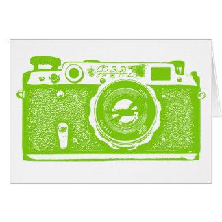Soviet Russian Camera - Martian Green Card