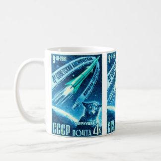 Soviet Space Dog Classic White Coffee Mug
