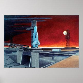 Soviet Space Shuttle Poster