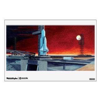 Soviet Space Shuttle Room Graphics