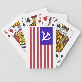 Soviet Spy Playing Cards