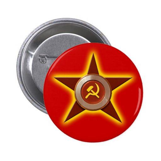 Soviet Star button