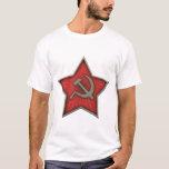 Soviet Star Hammer and Sickle Communist T-Shirt