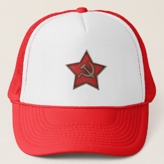 Soviet Star Hammer and Sickle Communist Trucker Hat