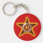 Soviet Star keychain