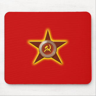 Soviet Star mousepad