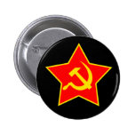 Soviet Star Pin