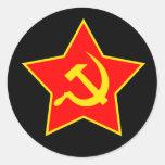 Soviet Star Sticker