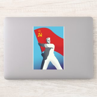 Soviet Travel poster Sticker