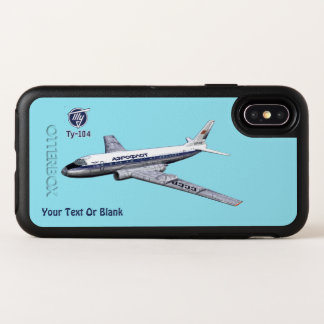 Soviet Tupolev (Туполев) Tu-104 Airliner OtterBox Symmetry iPhone X Case