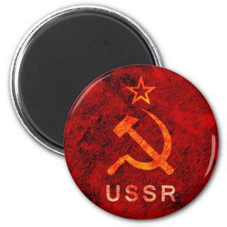Soviet Union 2 Inch Round Magnet
