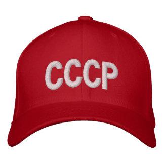 "Soviet Union ""CCCP"" Embroidered Baseball Cap"