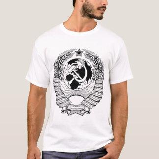 Soviet Union Coat of Arms Black & White T-Shirt