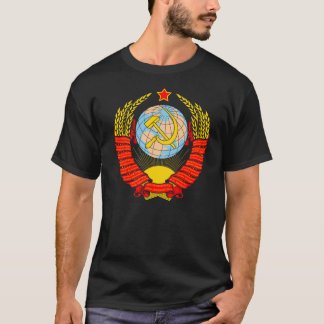 Soviet Union Coat Of Arms T-Shirt