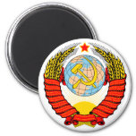 Soviet Union Emblem Fridge Magnets