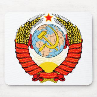 Soviet Union Emblem Mouse Pad