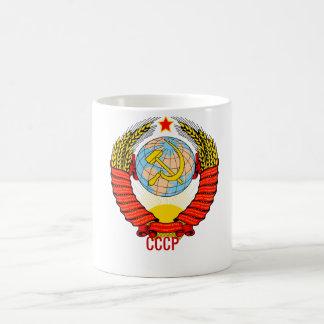 Soviet Union Emblem with CCCP Coffee Mug