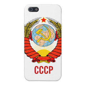 Soviet Union Emblem with CCCP Cover For iPhone SE/5/5s