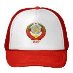 Soviet Union Emblem with CCCP Hats