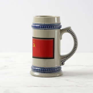 Soviet Union Flag Beer Stein
