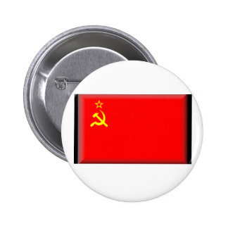 Soviet Union Flag Button