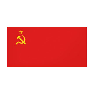 Soviet Union Flag Canvas Print