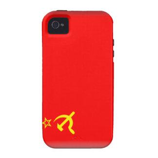 Soviet Union Flag iPhone 4/4S Cover