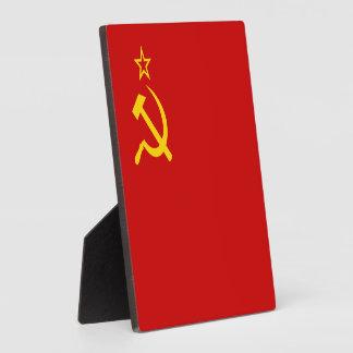 Soviet Union Flag Display Plaques