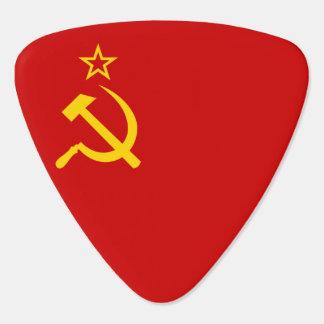 Soviet Union Flag Guitar Pick