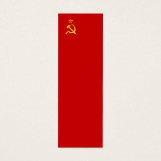 Soviet Union Flag Mini Business Card