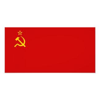 Soviet Union Flag Photo Print