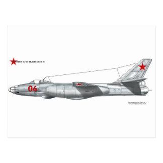 Soviet Union Ilyushin Il-28 Beagle Postcard