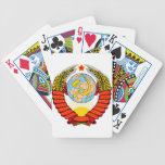 Soviet Union National Emblem Bicycle Playing Cards