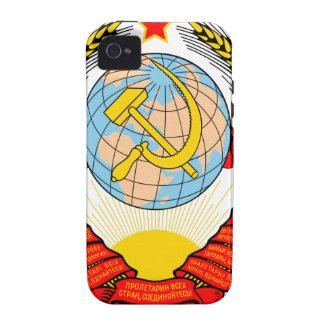 Soviet Union National Emblem Case-Mate iPhone 4 Case