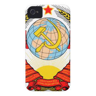 Soviet Union National Emblem iPhone 4 Case