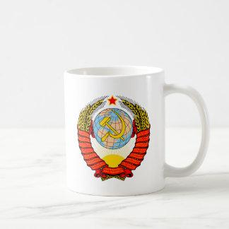 Soviet Union National Emblem Coffee Mug